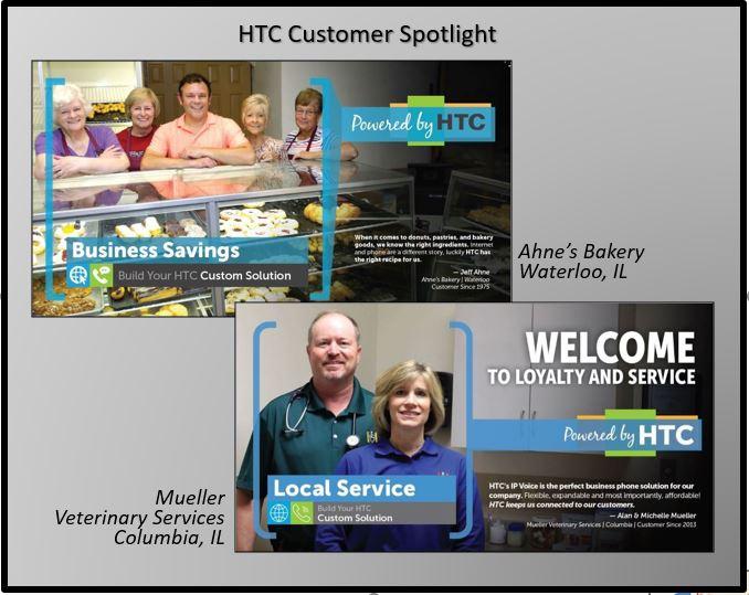 Harrisonville Telephone Company customer spotlight Ahne's Bakery Mueller Veterinary Services