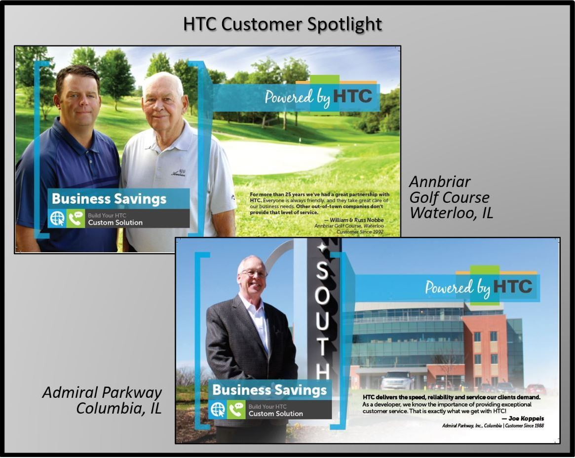 Harrisonville Telephone Company customer spotlight Annbriar and Admiral Parkway