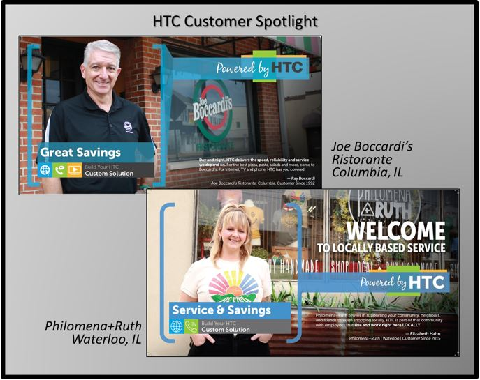 HTC business customers Joe Boccardi's and Philomena+Ruth