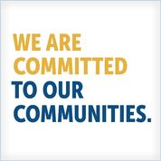 We are committed to our communities