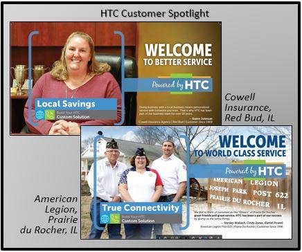 Harrisonville Telephone Company Cowell Insurance Prairie du Rocher Legion