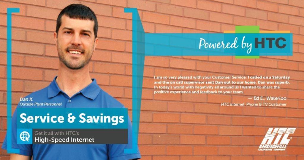 High-Speed Internet Customer Testimonial