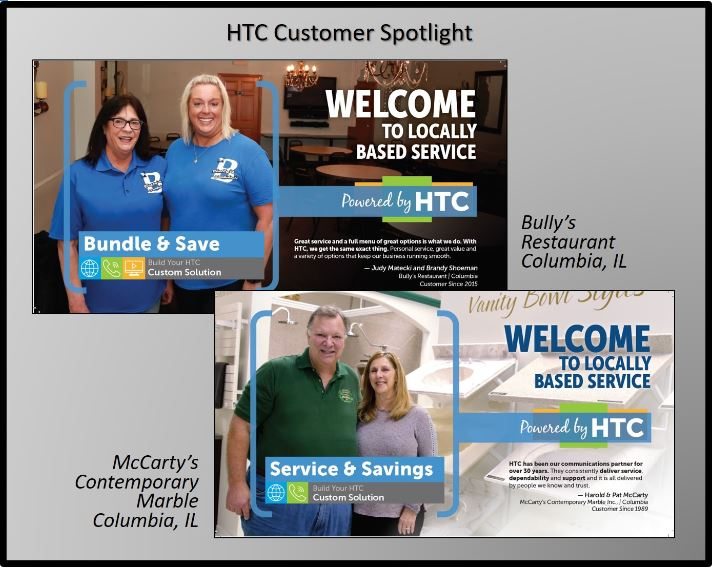 Harrisonville Telephone Company Customer Spotlight McCarty's and Bully's
