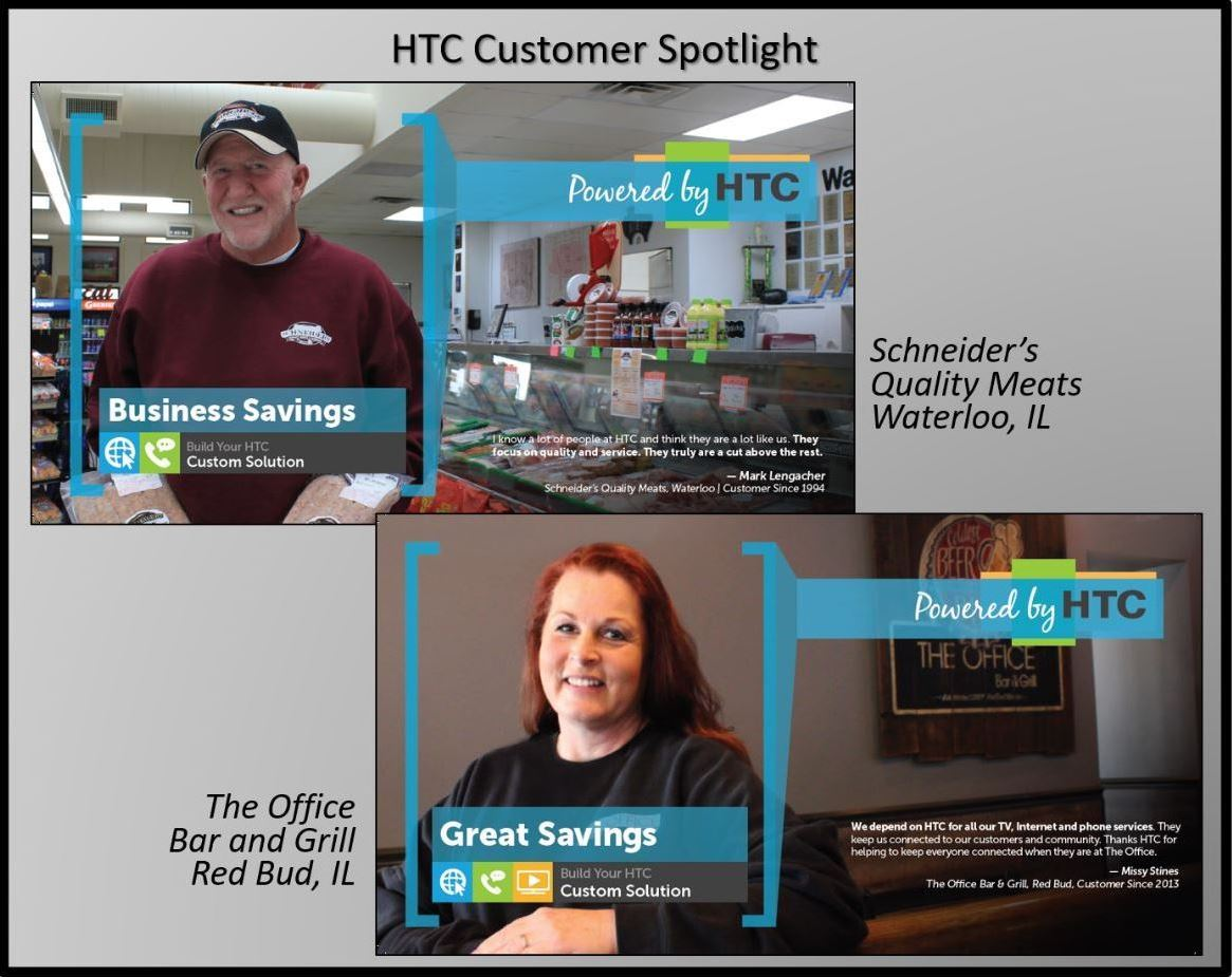 Harrisonville Telephone Company Schneiders and The Office customer spotlight