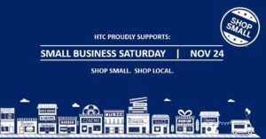 Harrisonville Telephone Company supports small business Saturday